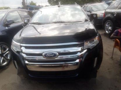 Super Clean Foreign used Ford Edge 2011 Black