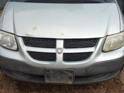 Clean Nigerian used Dodge Caravan 2002 Silver