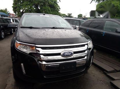 Super Clean Foreign used Ford Edge 2013 Black
