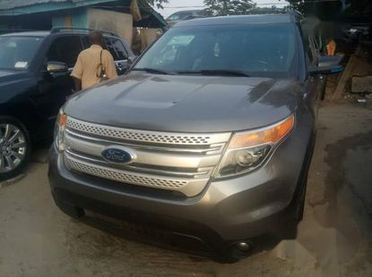 Clean Tokunbo Ford Explorer 2012 Gray