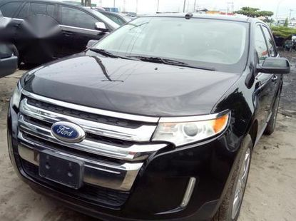 Neat Foreign used Ford Edge Limited 2013 Black
