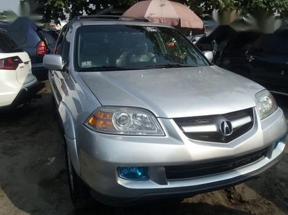 Neat Foreign used Acura MDX 2006 Silver