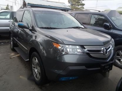 Clean Foreign used Acura MDX 2008 Gray