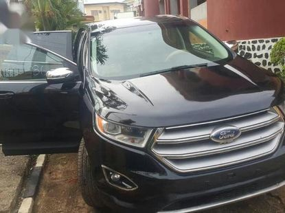 Clean Tokunbo Ford Edge 2018 SEL FWD Black