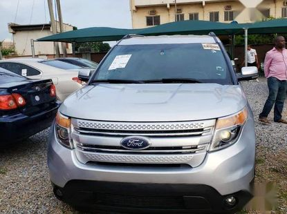 Neat Tokunbo Ford Explorer 2014 Silver