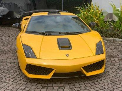 Super Clean Foreign used Lamborghini Gallardo 2011 LP 570-4 Superleggera Yellow