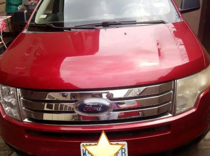 Nigerian Used Ford Edge 2008 Red