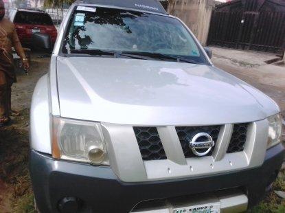 Neatly Used Nissan Xterra 2005 Silver Colour