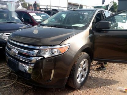 Foreign Used Ford Edge 2012 Gray