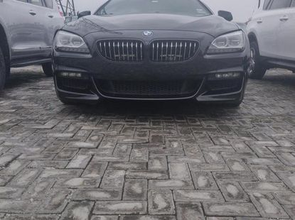 Neat Foreign used BMW 6 Series 2015 Black