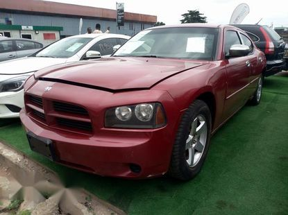 Foreign Used Dodge Charger 2009 Red