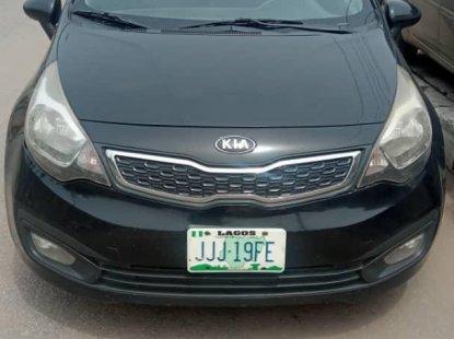 Neat Nigerian used Kia Rio 2014 Black