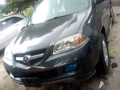 Sell grey/silver 2006 Acura MDX suv / crossover at mileage 0 in Lagos