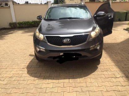 Nigerian Used Kia Sportage 2015 Gray