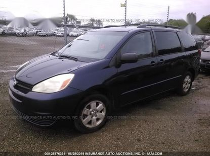Clean Tokunbo Toyota Sienna 2005 LE AWD Blue