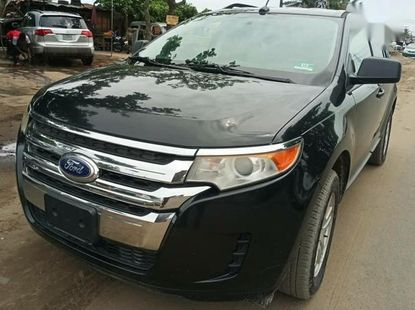 Neat Foreign used Ford Edge 2012 Black