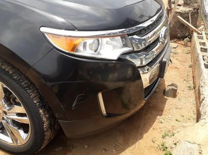 Well Maintained Nigerian used Ford Edge 2014 Black
