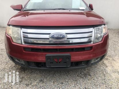 Super Clean Foreign used Ford Edge 2007 Red