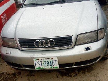 Neat Nigerian used Audi A6 2001 Gray