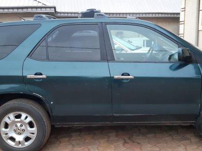 Nigerian Used  Acura MDX. 2002 Model