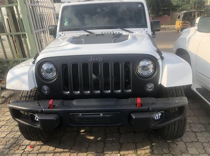 Clean Tokunbo  Used Jeep Wrangler 2018