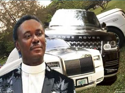 Sneak peek of Pastor Chris Okotie cars