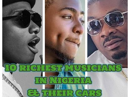 Top 10 richest musicians in Nigeria: cars, houses & net worths 2020 (Updated)