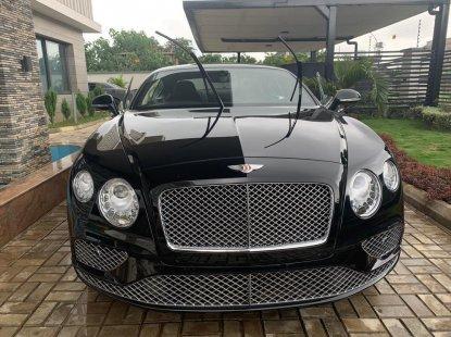 Clean Tokunbo Bentley Continental 2017 Black