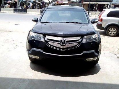 Clean Nigerian Used  Acura MDX 2008 Black