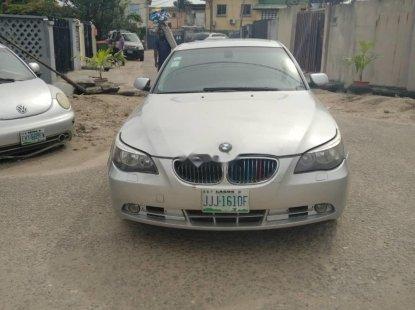 Neat Nigerian Used BMW 525i 2007 Grey/Silver