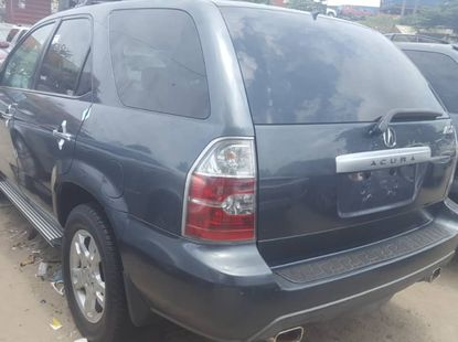 Black 2006 Foreign Used Acura MDX for Sale in Lagos