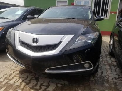 Properly maintained Nigerian used 2010 Acura ZDX