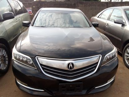 Clean Foreign Used Acura ILX 2014 Black