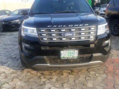 Clean Niigerian Used  Ford Explorer 2016 Black
