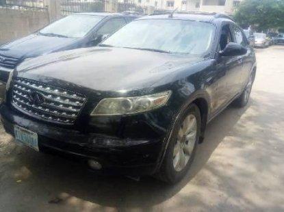 Clean Nigerian Used Infiniti FX 2005 Black