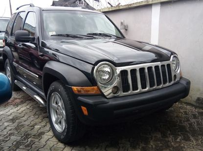 Foreign Used Jeep Liberty 2006  Model Black