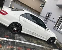 Nigerian Used Mercedes-Benz E350 2011 Model White