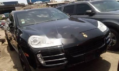 Foreign Used Porsche Cayenne 2008 Model Black
