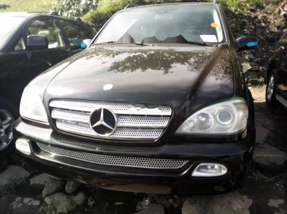 Foreign Used Mercedes-Benz ML 320 2003 Model Black