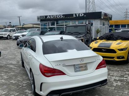 Neat Foreign used 2014 Mercedes-Benz CLA-Class