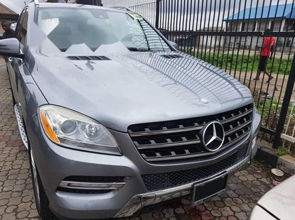 2012 Mercedes-Benz ML350 Automatic Tokunbo