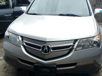 Silver Tokunbo Acura MDX 2008 Model for Sale in Lagos