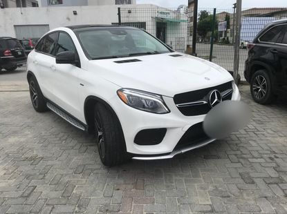 Well Maintained Nigerian used 2017 Mercedes-Benz GLE