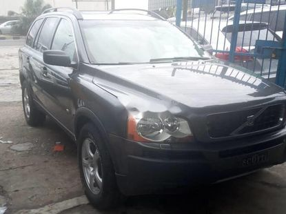 Foreign Used 2009 Model Volvo XC90 Grey