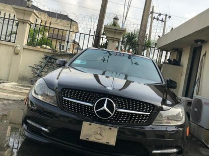 Neat Nigerian used 2013 Mercedes-Benz C300