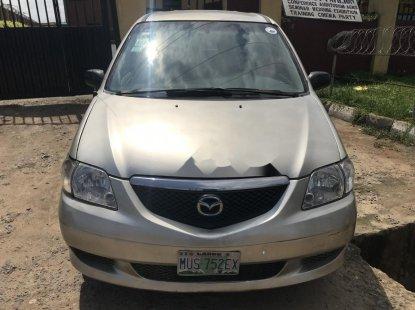 Nigeria Used Mazda MPV 2004 Model Silver