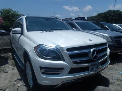 Very Clean Foreign used Mercedes-Benz GL-Class 2014