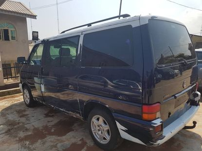 Well Maintained Nigerian used 2001 Model Volkswagen Caravelle