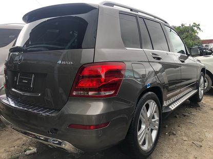 Mercedes Benz GLK350 2014 Model Brown Tokunbo Jeep