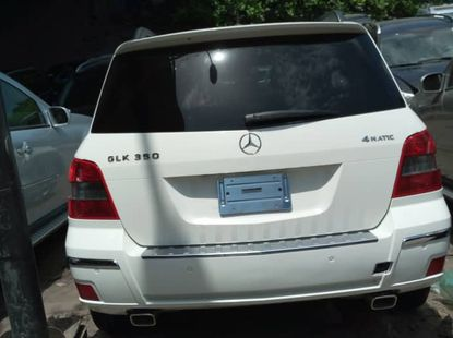 White Foreign Used Mercedes Benz GLK 350 2011 Model